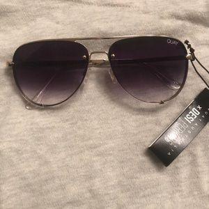HIGH KEY MINI GOLD/FADE sunglasses QUAY